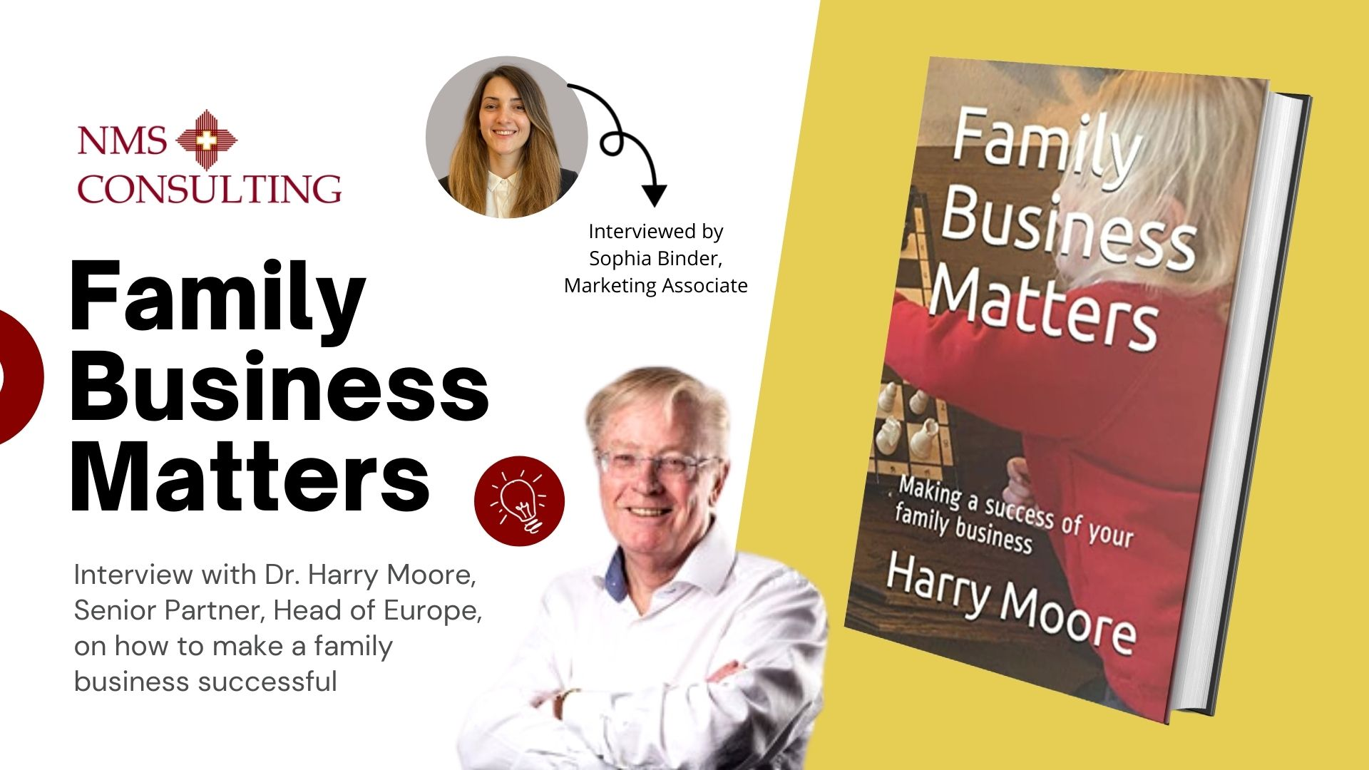interview with Harry for family business book