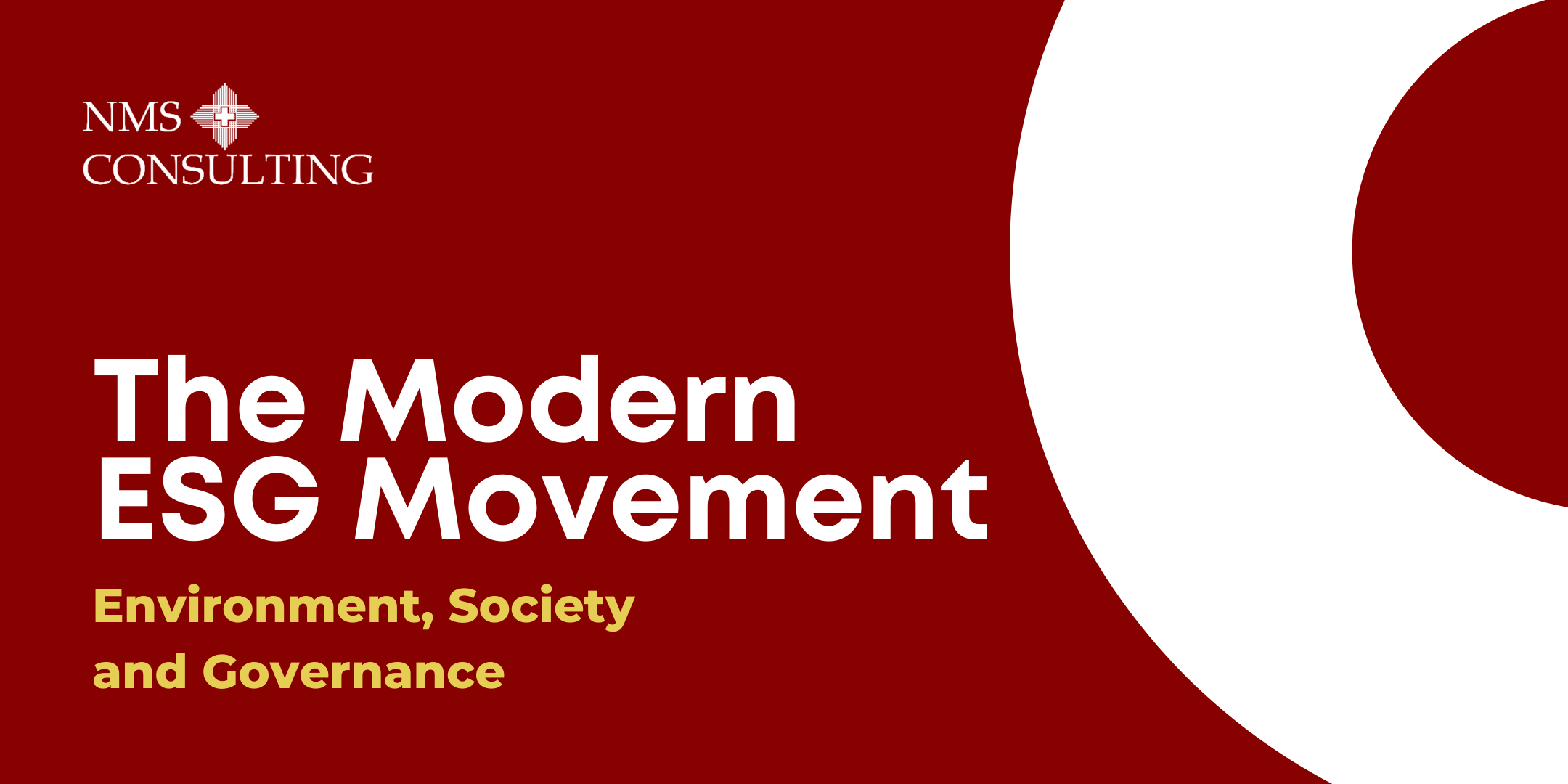 Insight The Modern ESG Movement